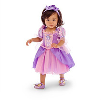 Fantasia Princesas Disney Rapunzel Enrolados 1 E 2 Anos