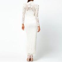 Vestido Longo Em Renda Formatura Madrinha Casamento