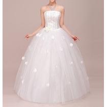 Vestido De Noiva E De Baile De 15 Anos - Maneq 34 A 42