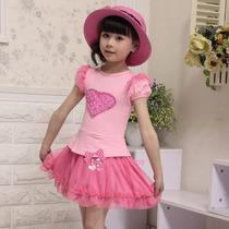 Vestido Rosa Importado 4 Anos Pronta Entrega