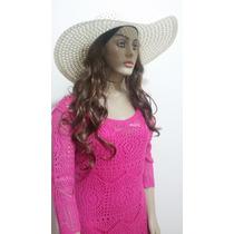 Vestidos Femininos Curtos Pink Crochê Baratos Lindos Festa
