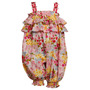 Bonnie Baby Bebe Importado Macacao Outfit Floral Tam 5 Anos