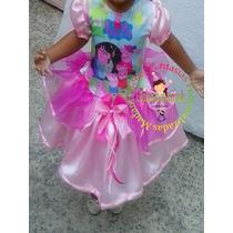 Vestido Fantasia Roupa Aniversário Família Peppa Pig