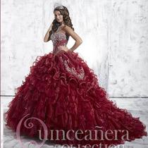Vestido De Debutante Vermelho 2 Em 1