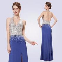 Belo Vestido De Festa Ever-pretty. Importado!!!