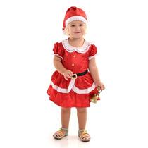 Fantasia Mamae Noel Infantil