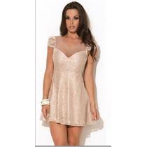 Vestido Lace Princess Max Glamm Ref: 77019