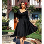 Lindo Vestido Retrô Vintage Pin Up Chic