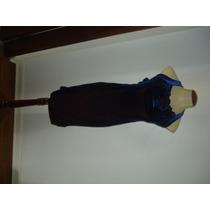 Vestido Tubinho Azul Marinho