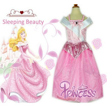 Fantasia Vestido Disney Bela Adormecida Pront Entrega Oferta
