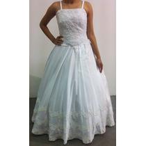 Vestido De Noiva Perola Bordado E Renda