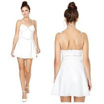Vestido Branco Curto De Alça Tipo Menininha Nova Moda Verão!