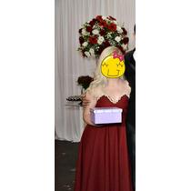 Vestido Longo Madrinha Festa Formatura Casamento Vermelho