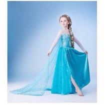 Vestido Fantasia Infantil Frozen - Lindos Vestidos Elsa Ana