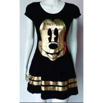 Vestido Curto Mickey Melhor Preço Mercado Livre