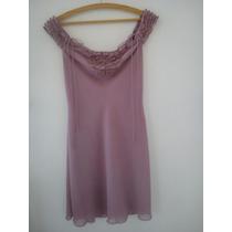 Vestido Romantico Da Triton - Forrado - Tamanho 38 - Promoç