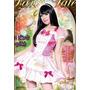 Fantasia Vestido Sweet Princesa Festa Aniversário Feminino B