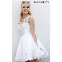 Promoção - Vestido Noiva Curto 2015 Por Encomenda!
