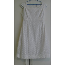 Vestido Branco De Lese Modelagem Perfeita!!!