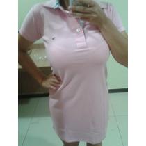 Vestido Feminino Piquet Esportivo Gola Polo Tommy Hilfiger