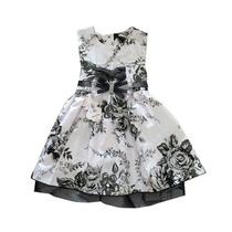 Vestido De Festa Infantil Feminino Tamanho 4
