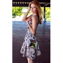 Vestido Florido Primavera Verão Frete Grátis