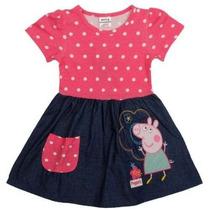 Vestido Peppa Pig Pronta Entrega !! Lindo !!