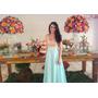 Vestido De Festa Exclusivo - Lindo De Alta Costura - Longo