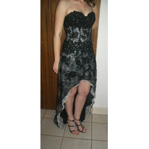 Vestido De Festa Modelo Mullet Luxo