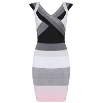 Vestido Herve Leger Brilho Moda Fashion + Pronta Entrega