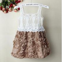 Vestido Infantil Bebe Menina Importado Pronta Entrega Lindo