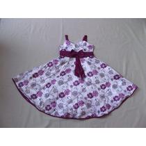 Vestido Infantil Festa / Casamento Estampa Flores