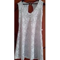 Vestido Branco Tubinho Renda M