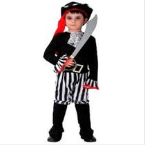 Fantasia Infantil Masculina Pirata Importado Arrase Na Festa