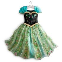 Fantasia Princesa Anna De Luxo Frozen 5/6 Original Disney