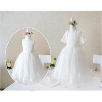 Lindo Vestido Dama Honra Festa Casamento Batizado Pronta Ent