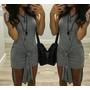 Vestido Feminino Blusa Com Detalhe Nózinho Nó Em Viscolycra