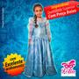 Fantasia Elsa Frozen Personalizada - Sob Medida - Exclusiva