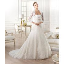 Vestido De Noiva Pronovias Modelo Gomera