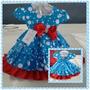 Vestido De Festa Infantil Galinha Pintadinha P A Gg