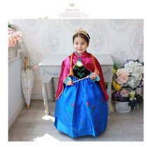 Vestido Frozen Elsa Coroação