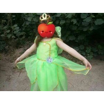 Vestido Tinker Bell Sininho Luxo