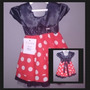 Vestido De Festa Infantil Minnie Promoção