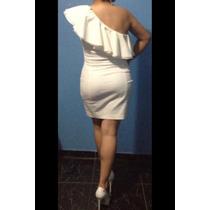 Vestido Bege / Nude Zara Tamanho G Ideal Para O Réveillon