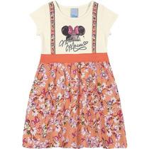 Vestido Estampando Minnie Mouse Disney