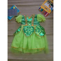 Fantasia Infantil Princesas Sininho Tinker Bell Fada!