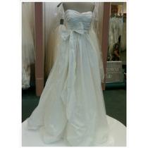 Vestido De Noiva Importado Vera Wang + Véu + Saiote