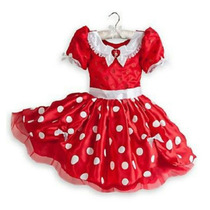 Fantasia Minnie Vestido Luxo Disney Store Original 3 4 5 6
