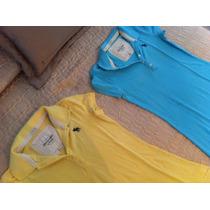 Vestido Tipo Pólo - Abercrombie & Fitch - Original