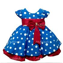 Vestido Infantil Galinha Pintadinha Luxo - Tam 1 / 3